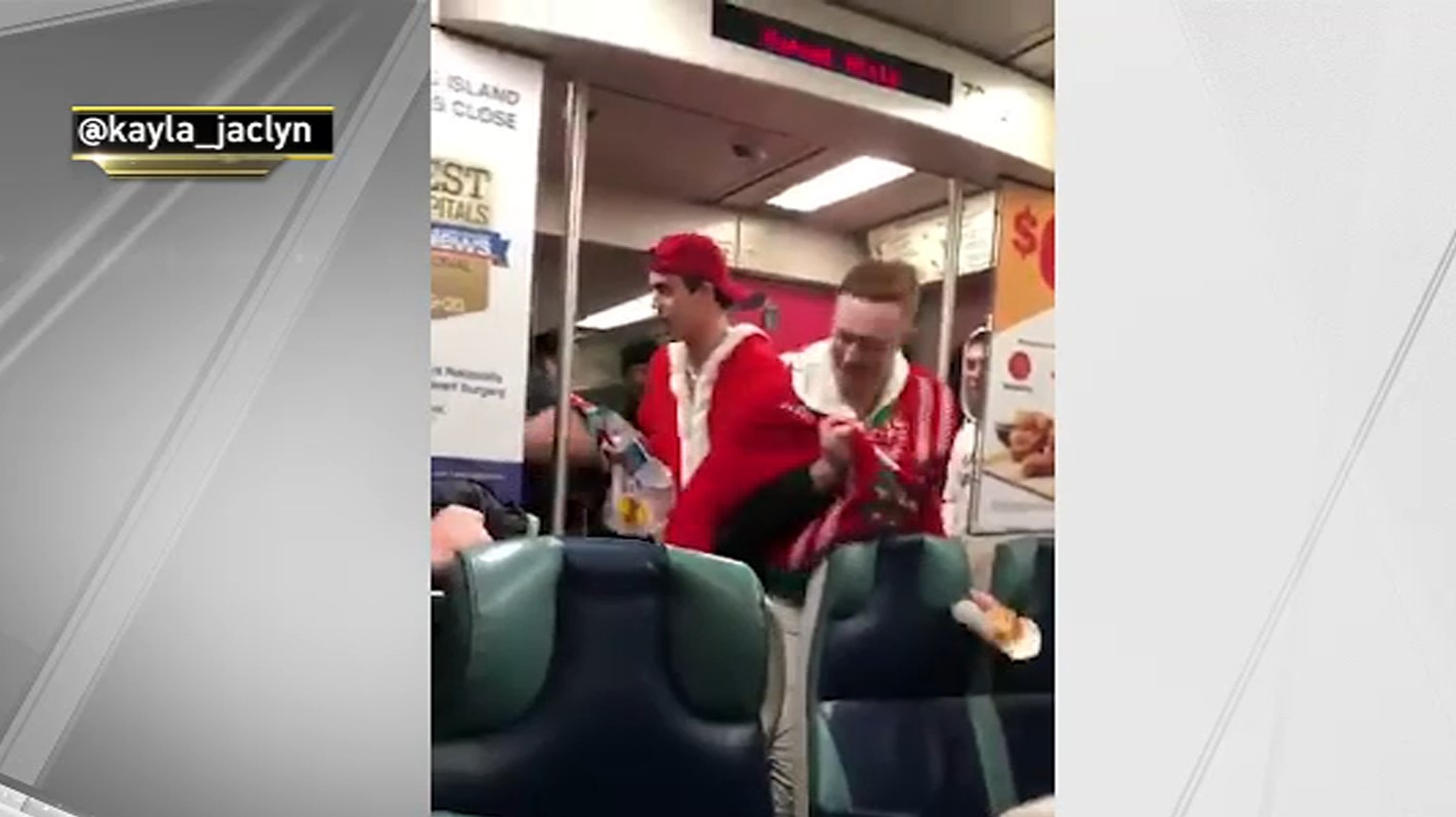 Man Stabbed on LIRR Train in Queens; SantaCon Commuters Rush to Aid