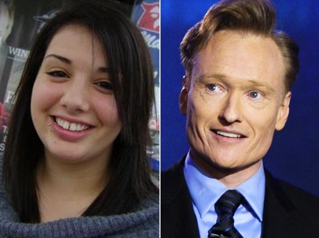 Sarah Killen and Conan O'Brien