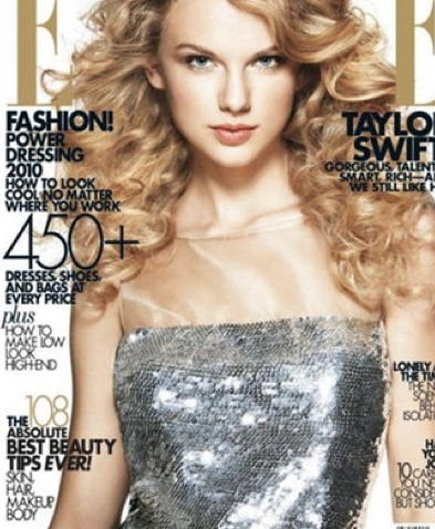 mag covers elle taylor swift