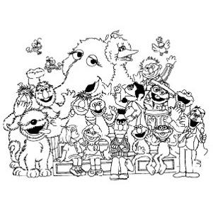 Sesame Street American Apparel