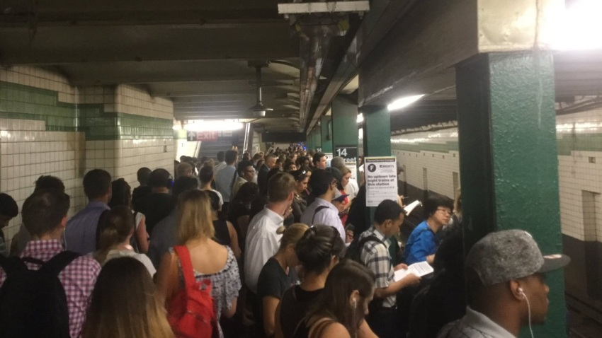 Subway Crowds June 20