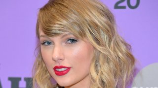 Taylor Swift attends the 2020 Sundance Film Festival in this file photo from January 23, 2020.