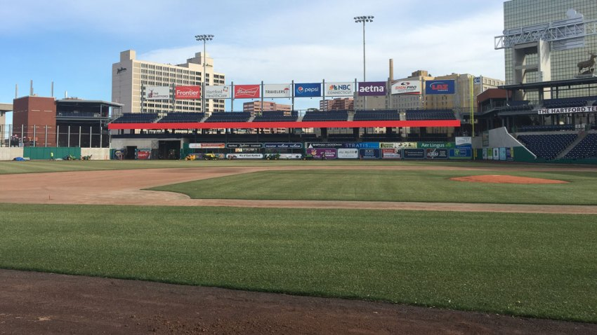 Third Base Line at Dunkin' Donuts Park