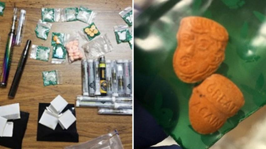 Trump-Shaped Ecstasy Pills