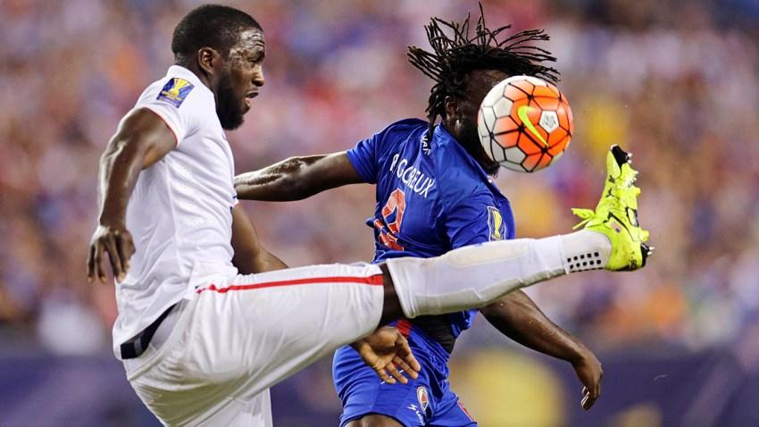 Gold Cup Haiti US Soccer