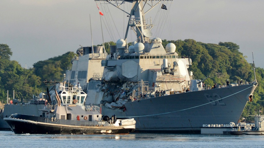 US Navy Fitzgerald Collision