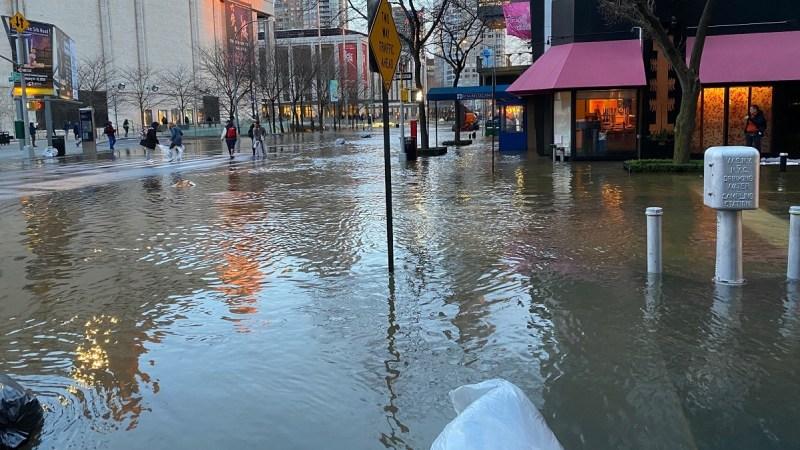 In Pictures: Water Main Break Floods Upper West Side