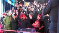 Hundreds of Couples Come to Times Square to Renew Their Vows on Valentine's Day