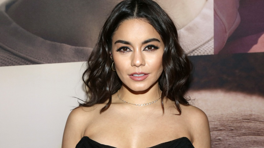 "In this file photo, Vanessa Hudgens poses at the opening night of the revival of Ivo van Hove's ""West Side Story""on Broadway at The Broadway Theatre on February 20, 2020 in New York City."