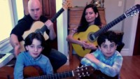 Brooklyn's 'Quarantined Quartet' Family Plays Music Together Every Night of Pandemic