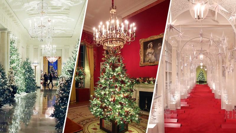 PHOTOS: White House Christmas Decorations Unveiled
