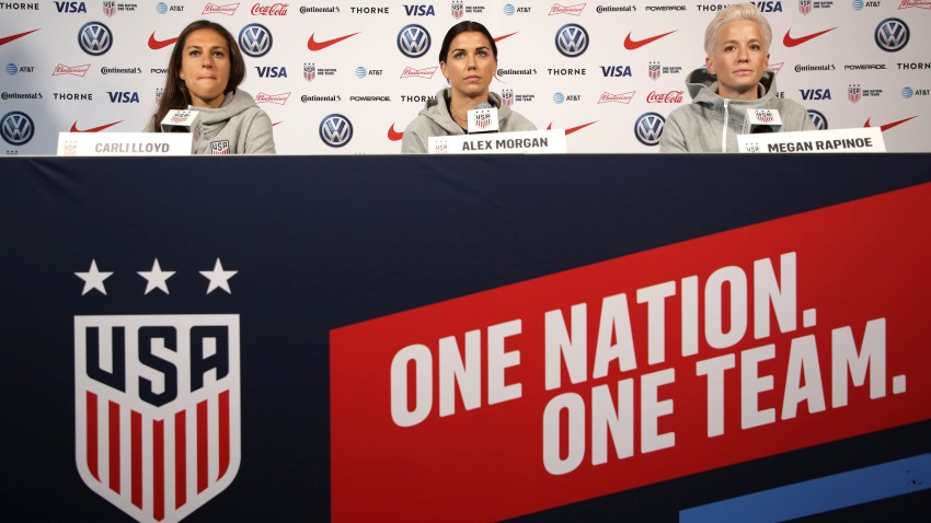 WWCup US Womens Soccer