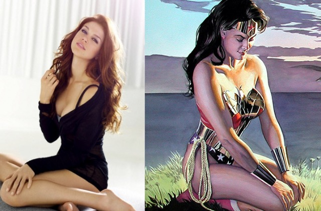 Wonder Woman Split Main