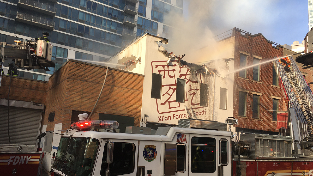 Massive Fire Engulfs Queens Outpost of Popular Chinese Restaurant