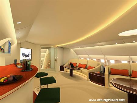 A380 Luxury VIP Lounge