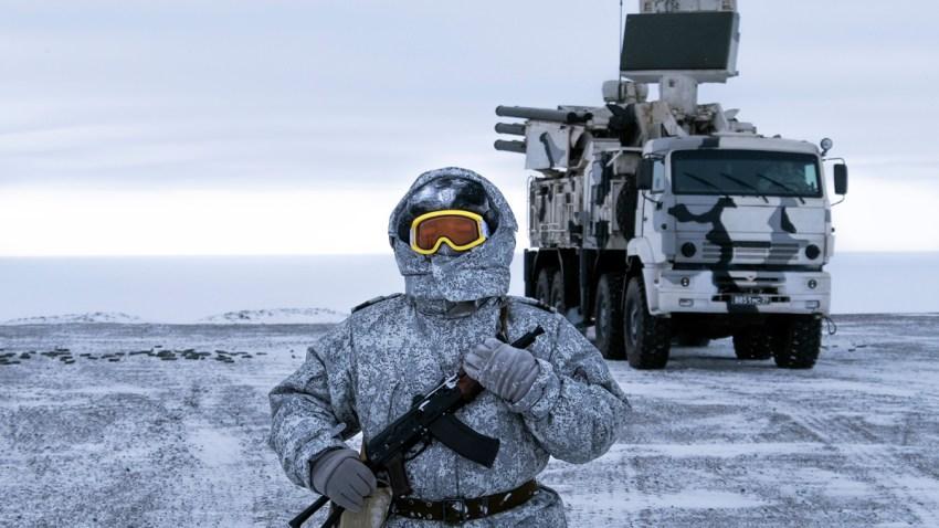 Russia Arctic Base