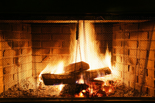 Black Mountain Bar Brooklyn Fireplace