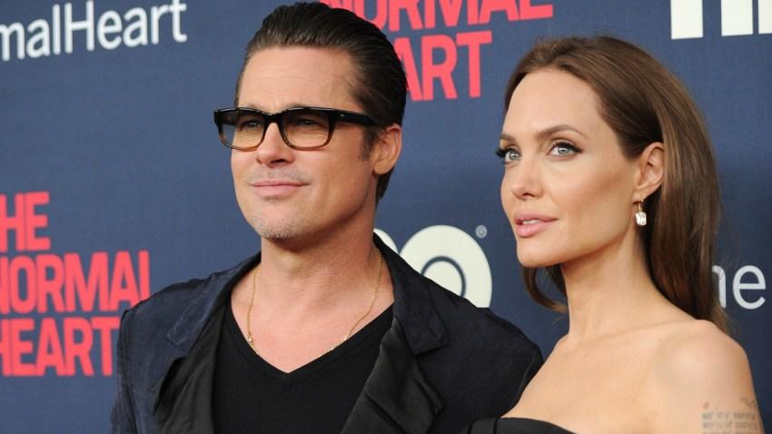 Pitt Jolie Divorce