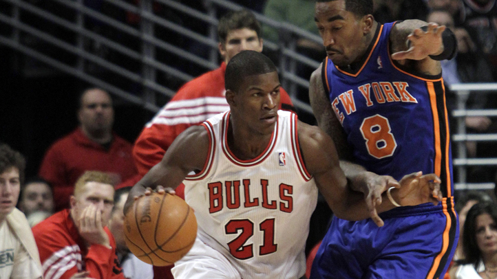 Knicks Bulls Basketball
