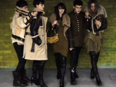 burberry fall 2010 campaign