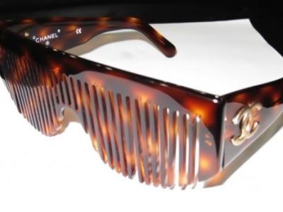 chanel comb sunglasses