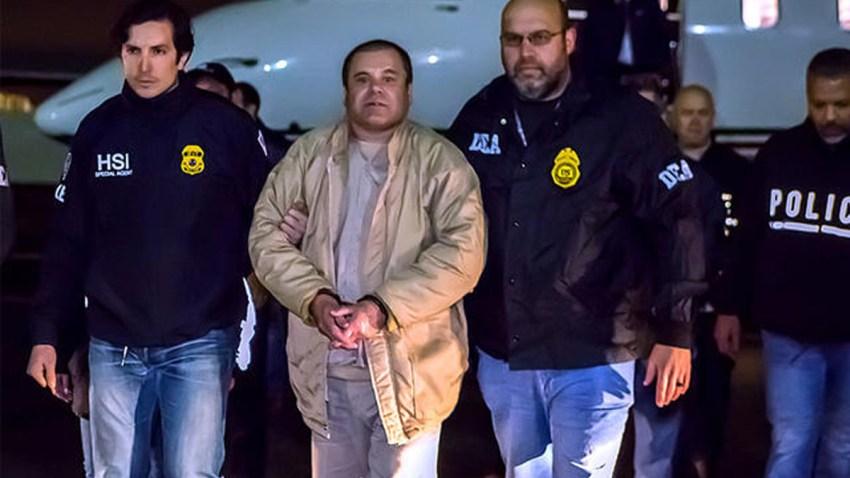 """Mexican kingpin Joaquin """"El Chapo"""" Guzman"""