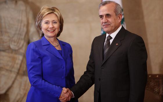 Mideast Lebanon Clinton