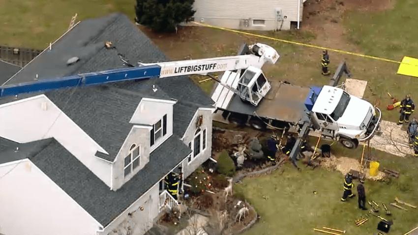 Crane Collapse New Jersey