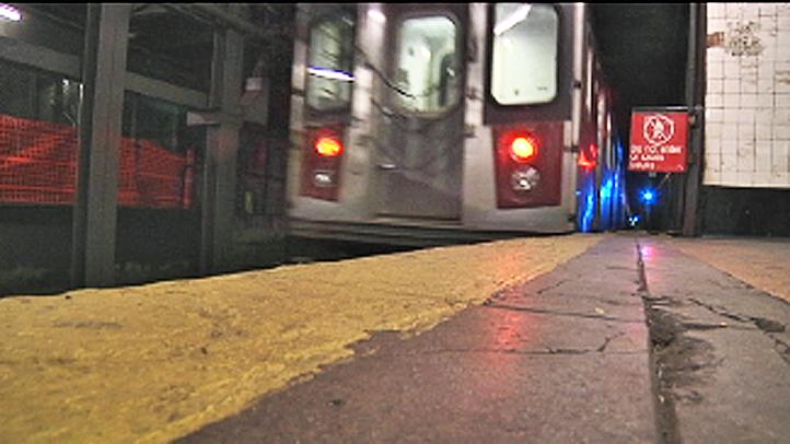 danger subway tracks