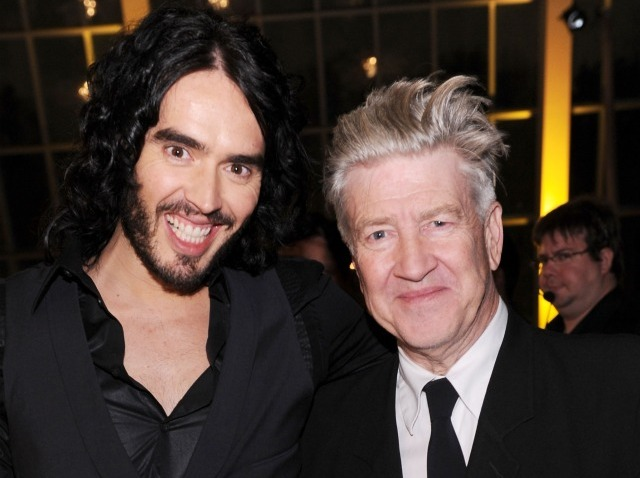 david lynch russell brand 2nd annual charity event