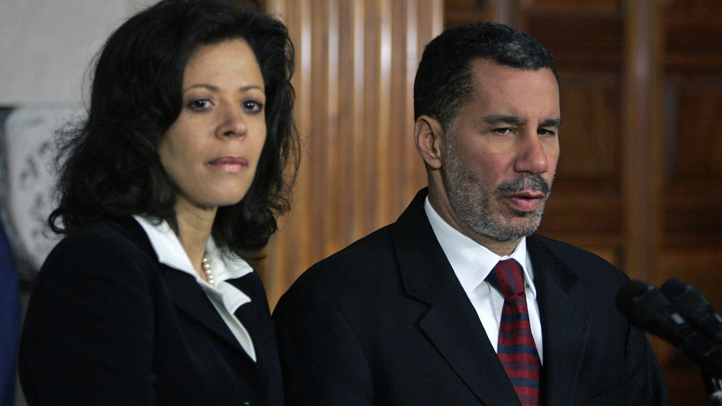 david paterson and wife