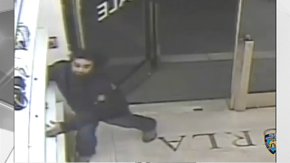 Video captures image of suspected thief