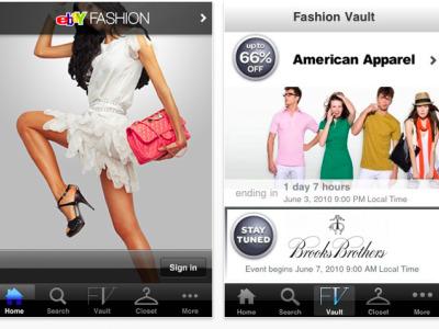 ebay fashion app for iphone