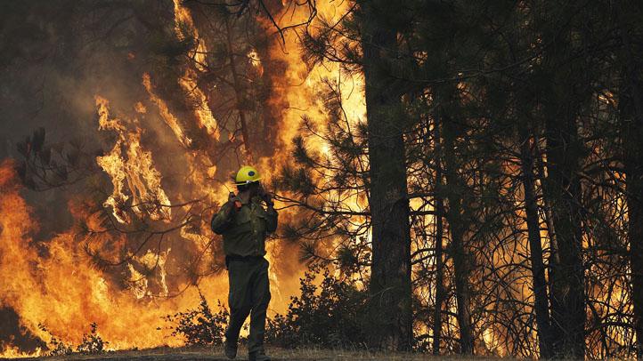 Western Wildfire Yosemite