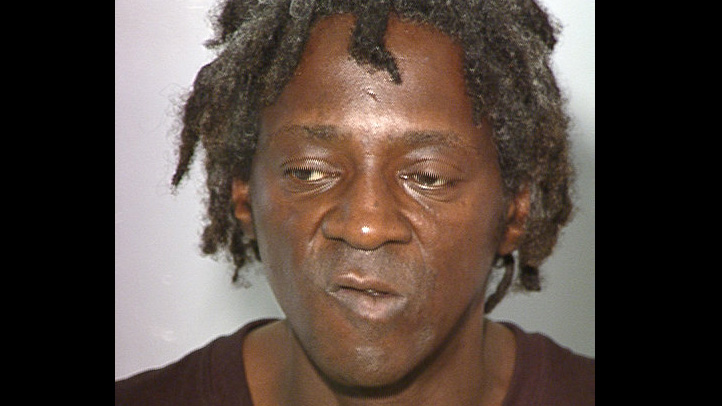 Flavor Flav mug shot domestic violence knife threat fiancee fiancée