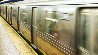 generic subway train mta