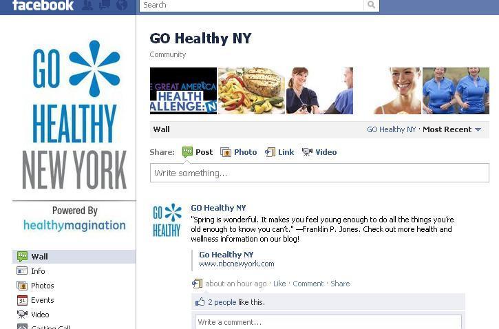 go healthy facebook
