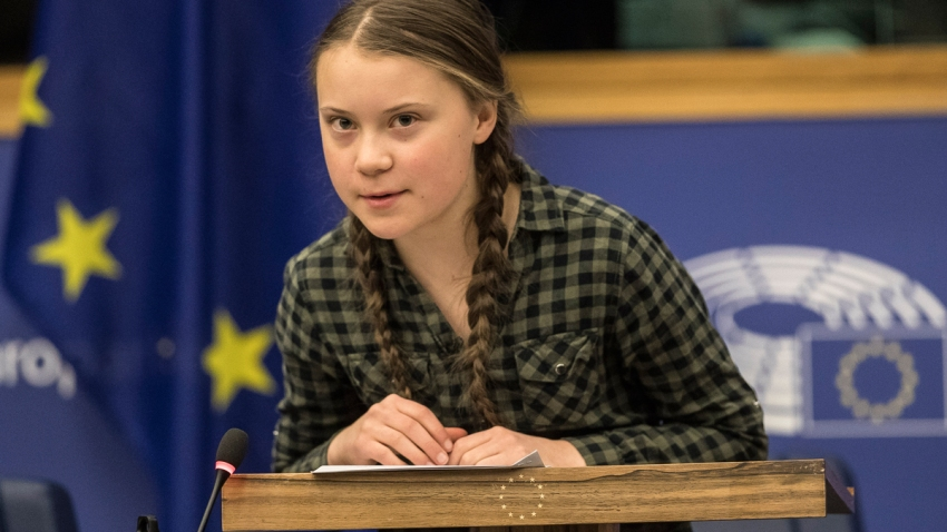 France EU Thunberg