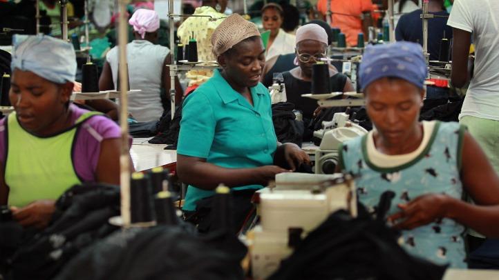 haitian garment workers