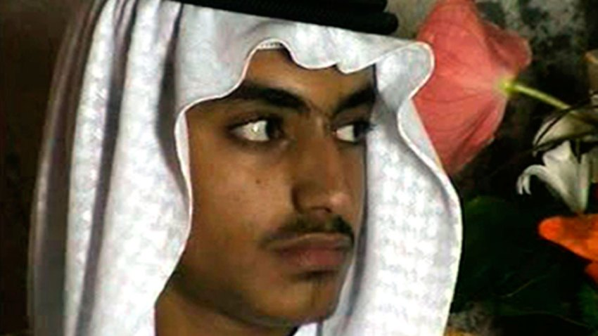Mideast Hamza Bin Laden