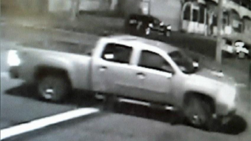 hate crime pickup truck hit run