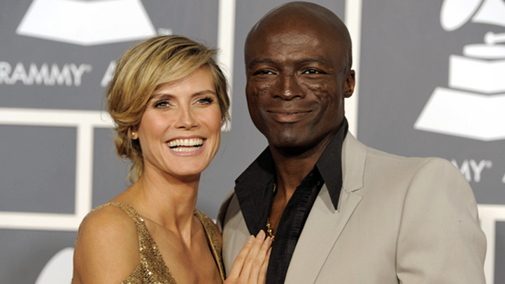 People Seal Heidi Klum
