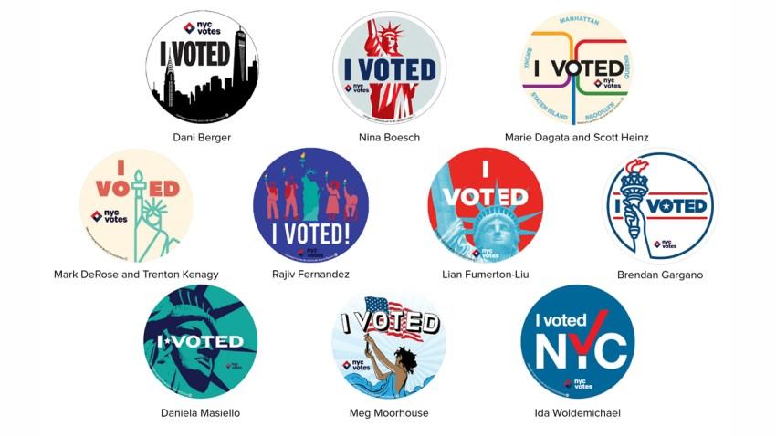i voted sticker nyc