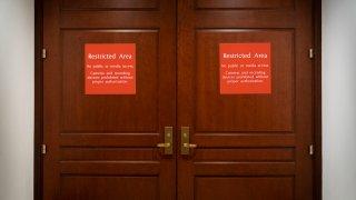 Trump Impeachment Hearing Room