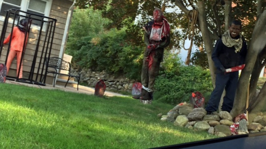 isis halloween display nj
