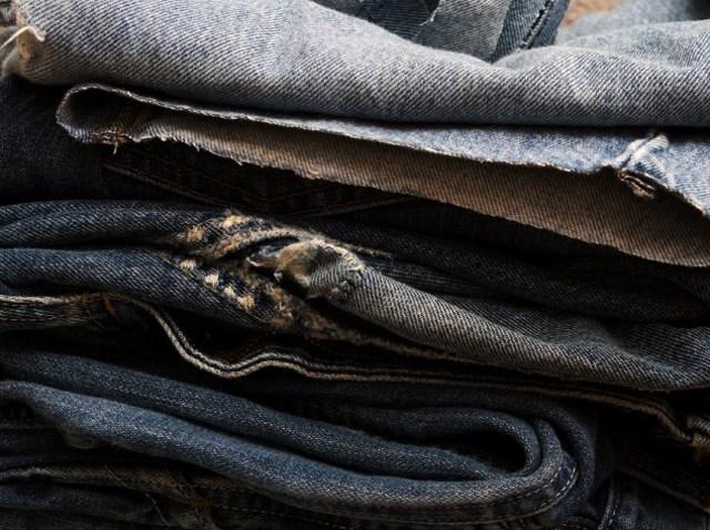 Jeans pile sale