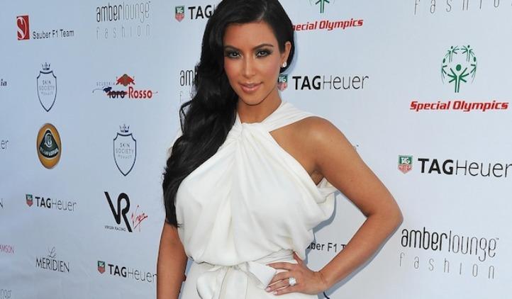 kim kardashian white dress 722
