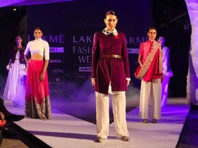 lakme fashion week mumbai india
