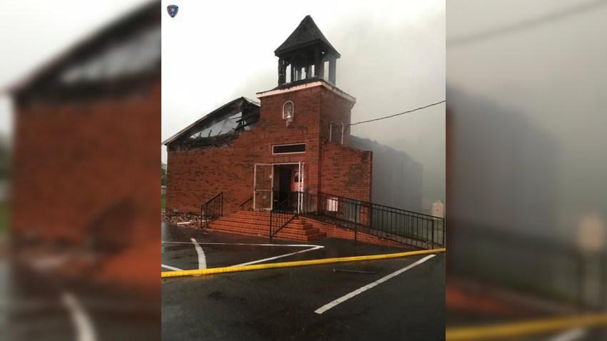 louisiana-church-fire