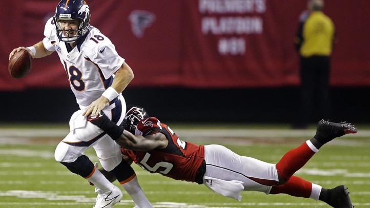 Broncos Falcons Football